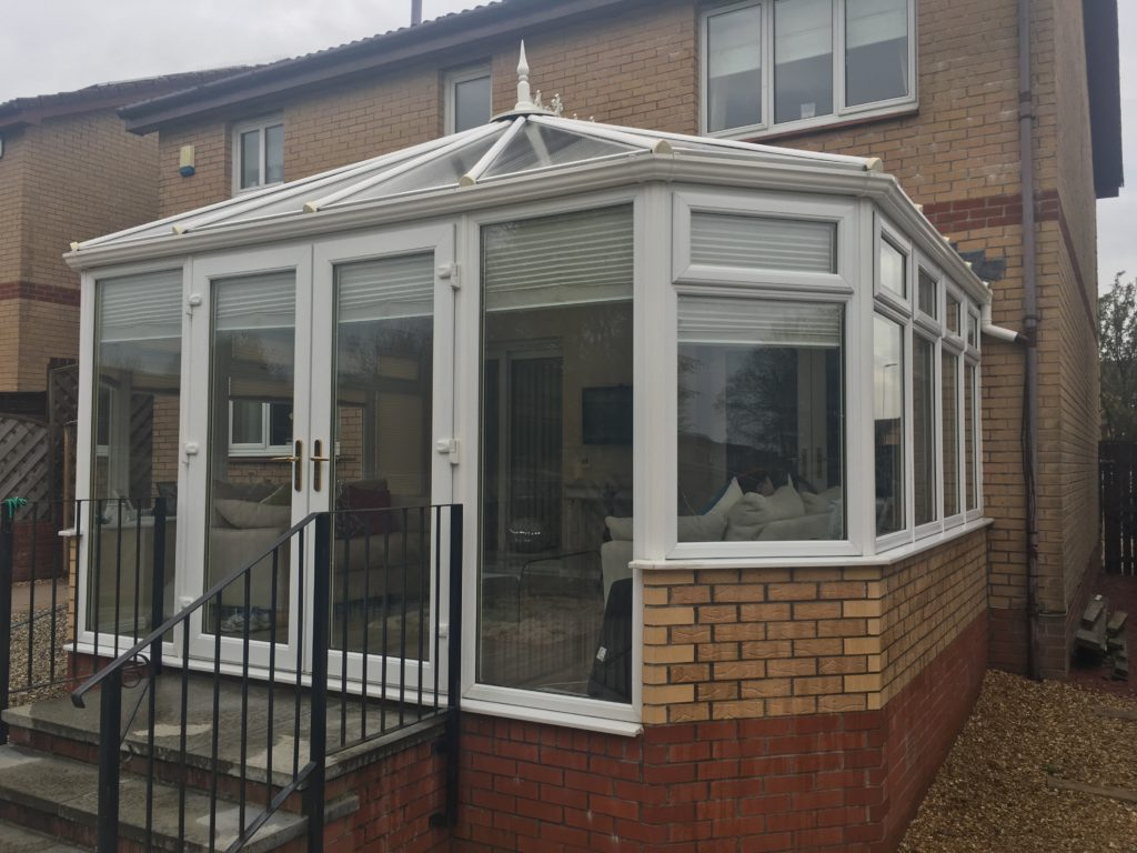 conservatory cleaning Airdrie Northlanarkshire