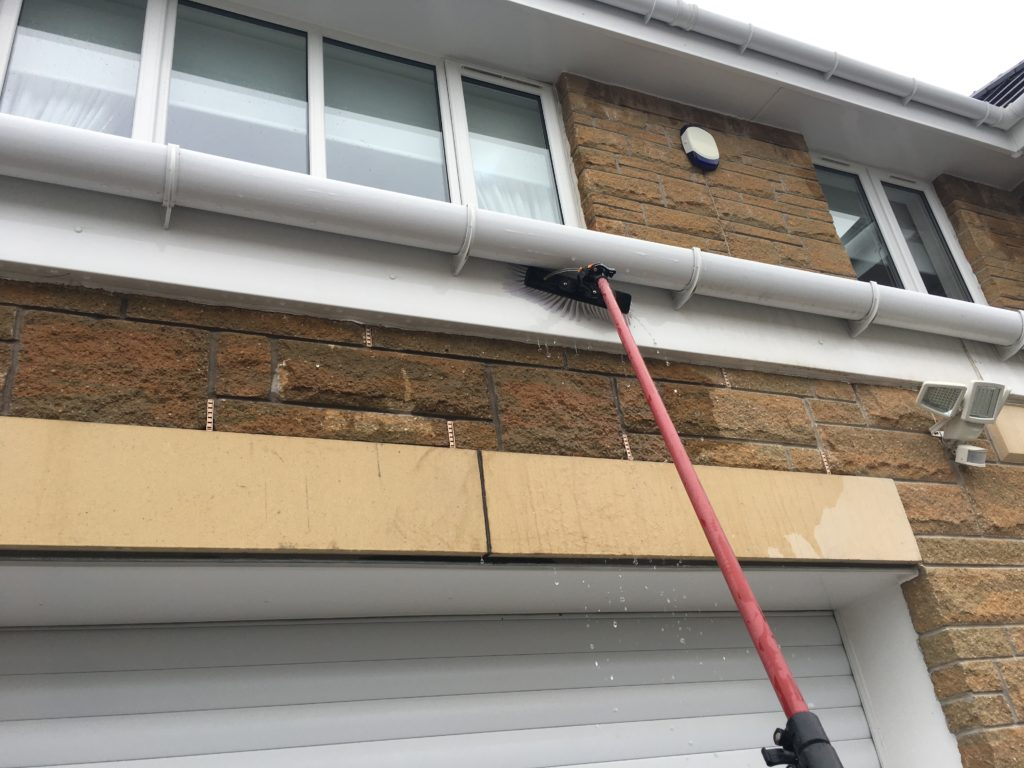 fascia and soffit cleaning Airdrie Northlanarkshire